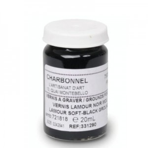 Charbonnel Vernis Lamour Soft-Black Ground - 20ml