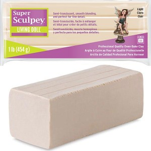 Πηλός Super Sculpey Living Doll - Light Beige - 454gr